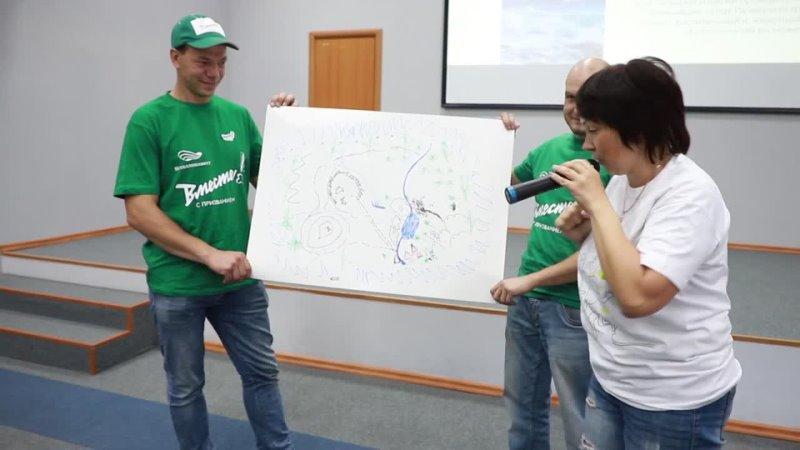 Волонтеры Уральской Стали попробовали свои силы в командной деловой игре