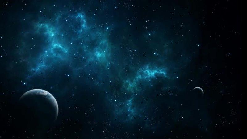 Красивая музыка и космос