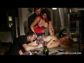 Ужин на четверых Anna Polina Lola Reve Порно 18 Эротика Секс Молоденькие Шлюха b