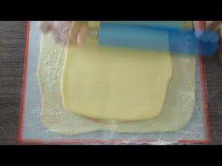 Печенье ТВОРОЖНЫЕ КОЛЕЧКИ - Слоеное, хрустящее и невероятно вкусное
