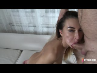 DefyXXX Katrin Tequila - Submissive Secretary POV, All sex, Deep Throat, Rimming, Anal, Anal Toys, Piss on face