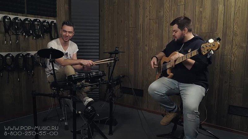 [PopMusicRu] Электронная ударка ALESIS NITRO MESH KIT ( с сетчатыми пэдами )