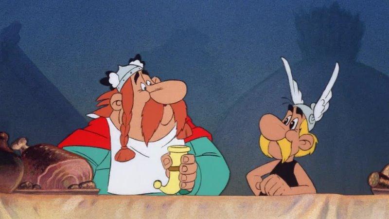 Астерикс в Британии Astérix chez les Bretons 1986