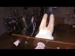 БДСМ игры украинских извращенцев (домашнее порно монашка ебет подружку секс нижняя сучка блядь давалка шалава сосет хуй минет) -