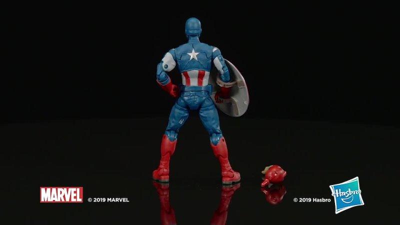 Hasbro marvel legends серия мстители endgame 6 дюймовая коллекционная фигурка капитан америка мстители коллекция