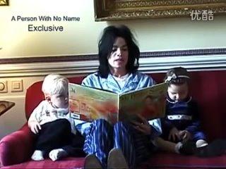 Майкл Джексон читает сказку своим детям
