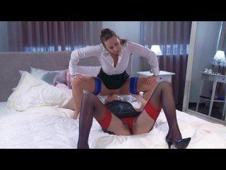 Straplessdildo pavla and bree haze __ porn lesbians strap on dildo tights stockings blowjob handjob heels watch online