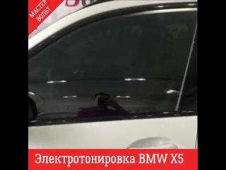 Электротонировка BMW X5