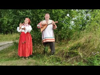 🎤«Звёздочки» - исполняет семейный дуэт Наталья и Вячеслав Габасовы (Ворон-Лозовский ЦКиД)