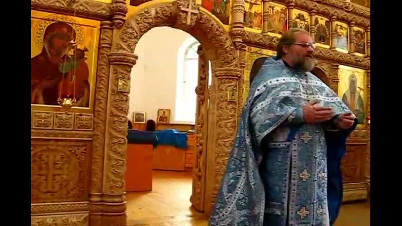 Видео от Храм Иверской иконы Божией Матери г Рыбинск
