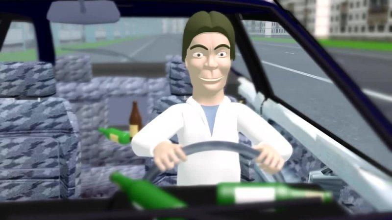 Видео уроки ПДД Рули Онлайн для учащихся автошкол Б 28 Разбор билетов ПДД 2021 на тему Ответственность водителя