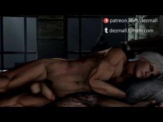 Ненасытная вампирша хочет секса и трахает парня снова и снова Хентай мульти.mp4