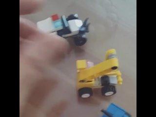10 шт. мини машинки, детские игрушки, кубики трансформеры diy, 2019, подарки на день рождения, совместимые блоки, игрушки для
