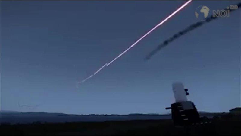 «Панцирь» отбивает атаку дронов на российской базе в Сирии