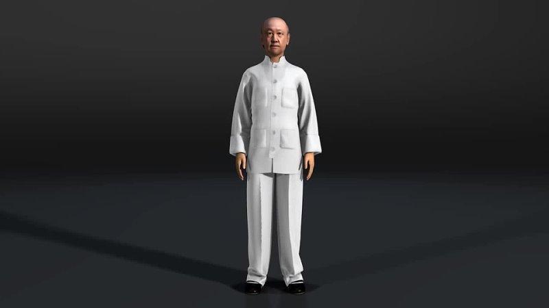 盧文錦詠春拳 3D 動畫 Lo Man Kam Wing Chun 3D Animation