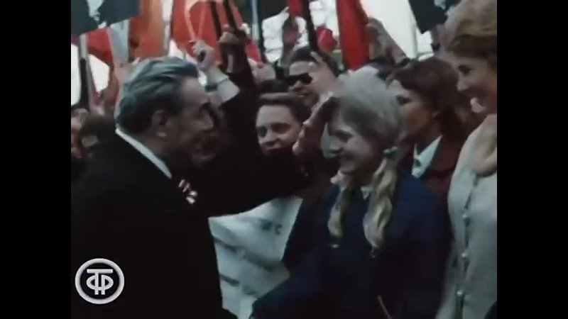 Леонид Ильич Брежнев Документальный фильм 1973
