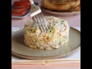 Салат ночной каприз