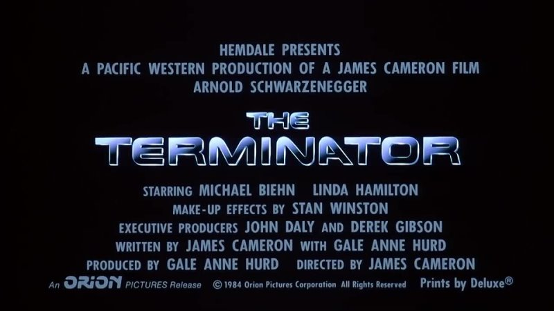 The Terminator 1984 Official Trailer Arnold Schwarzenegge Movie