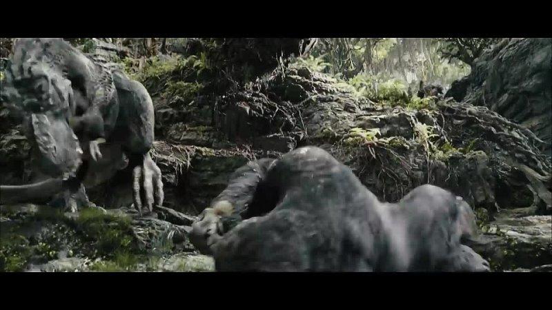 King Kong vs T Rex fight