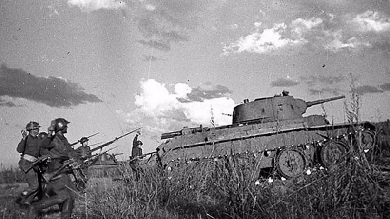 Три танкиста. Халхин Гол