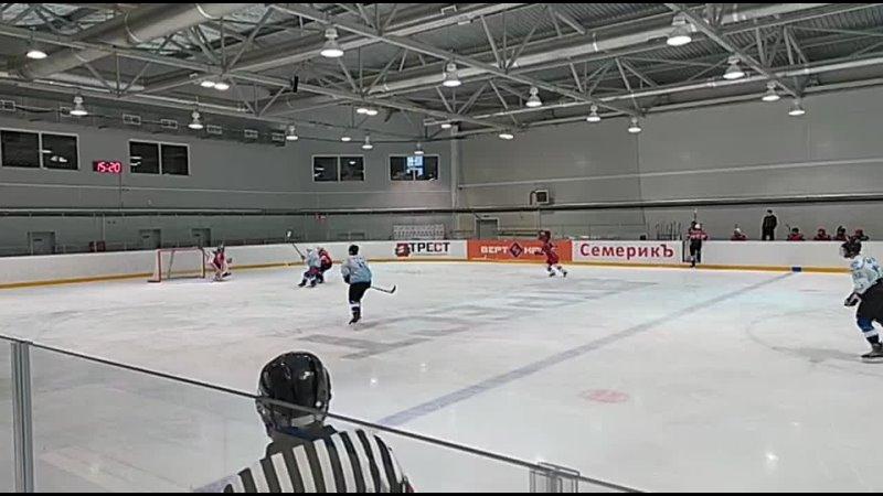 Чемпионат ЮВХЛ 1 4 финала Первый матч ХК Зарайск ХК Зарайская Дружина