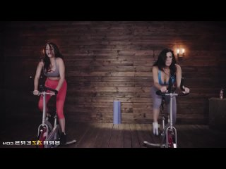 [HD 1080] Ariella Ferrera, Reagan Foxx - Harder Faster Milfier (2018) - порно/секс/домашнее