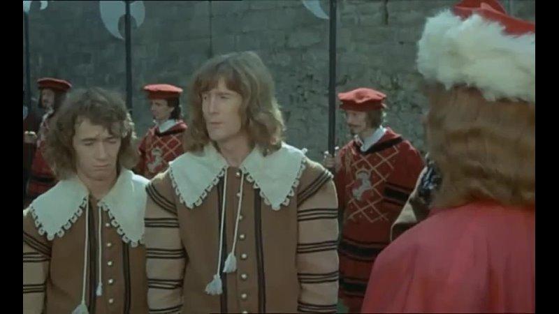 ЧЕТВЕРО ПРОТИВ КАРДИНАЛА Les Charlots en folie À nous quatre Cardinal 1974