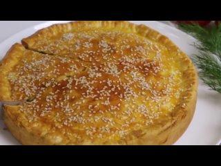 Лучший Закусочный Пирог, который я только пробовала! Луковый пирог с сыром
