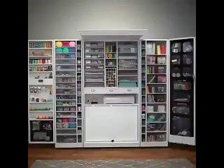 Пусть у каждой из моих любимых девочек-подписчиц будет по такому шкафчику, а то и по два