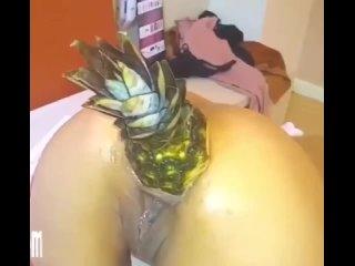 АНАНАС В ЗАДНИЦЕ - русское частное порно домашнее секс студентка юная минет отсос мамочка милфа