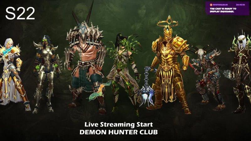 暗黑破壞神3 狩魔獵人 直播 - Demon Hunter Club