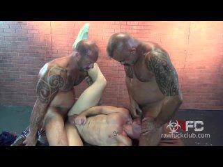 GayAnalSex  Трах больших папочек - Big Daddy Dicks - R418 (RawFuckClub)