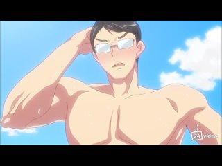 Экскурсия на нудистский пляж | Nudist Beach ni Shuugakuryokou de!! The Animation - 01 хентай аниме