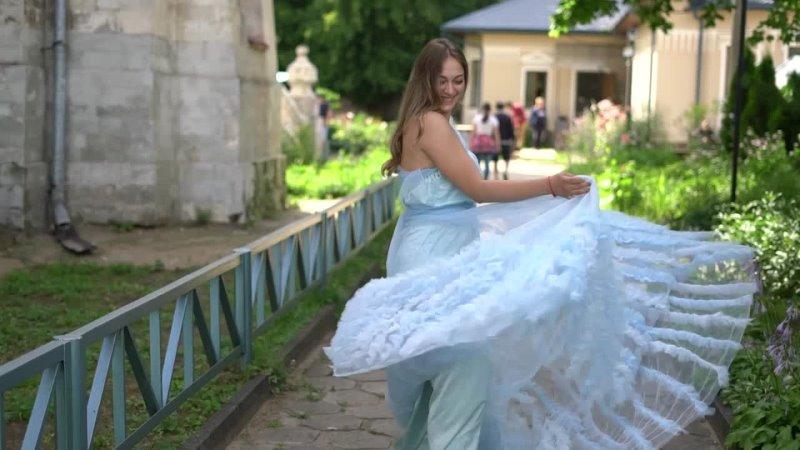 Фотосессия в усадьбе Быково В платье от @dresslabspace На видео @dzen valika