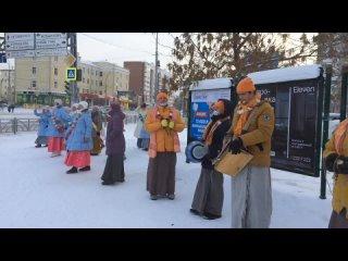 Харинама в Екатеринбурге в - 19