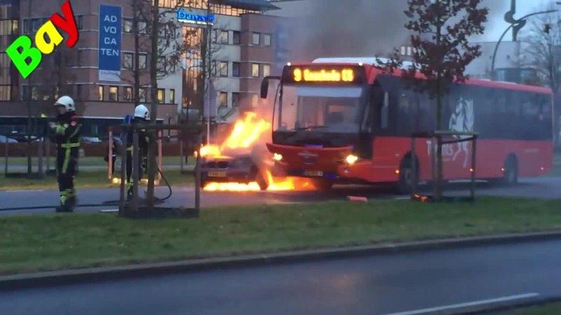 Спасли автобус