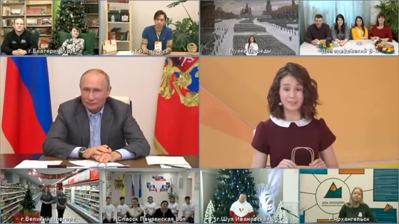 Putin Meets A Blind Russian Teen Girl Two Years After She Made A Viral