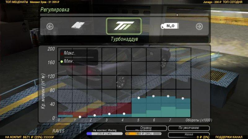 3 NFS Underground 2 на руле без мёртвой зоны 900 градусов с Force Feedback