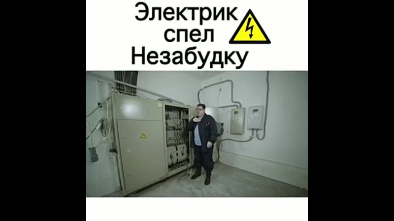 Электрик спел Незабудку