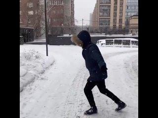 Эд любит снег