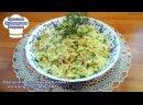 Овощной салат из капусты с яйцом. Как приготовить витаминный салат. Простой рецепт 720p