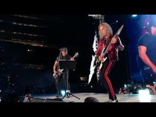 Metallica «Группа Крови» Металлика КИНО (_Groupah krovee_ Viktor Tsoi) Moscow Luzhniki