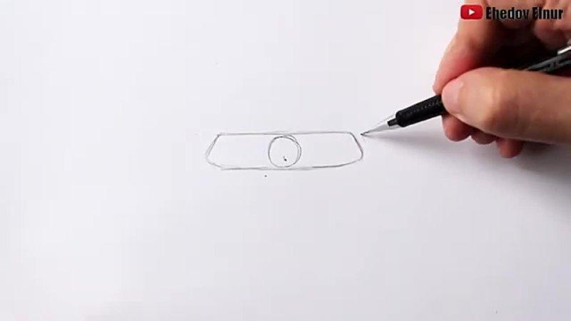 Как нарисовать Мерседес Литвина Мерседес Акула