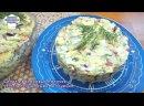 Салат из крабовых палочек с плавленным сыром и огурцом Простой рецепт 1
