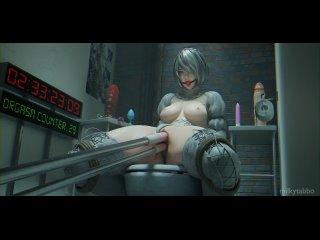 2B and the sex-machine