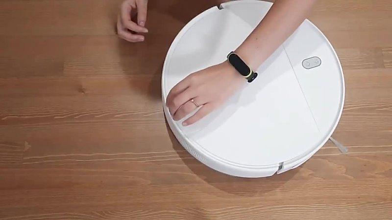 Робот пылесос XIAOMI MIJIA G1 для сухой и влажной уборки 2200