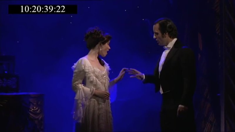 Ramin Karimloo Sierra Boggess Beneath a Moonless Sky Once Upon Another Time Love Never Dies proshot clip