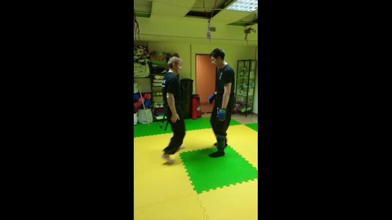 Тренировка Вин Чун