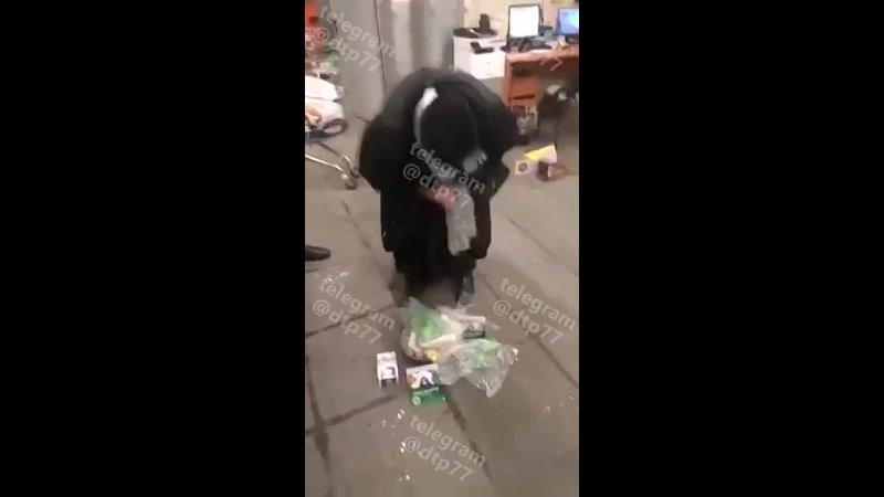 Охранники магазина задержали опытную воровку