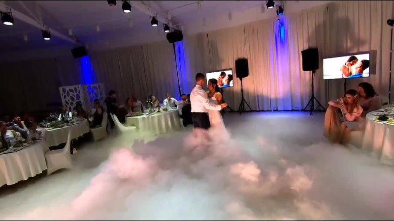 Тяжелый дым 💨 на первом танце 💞 Кристины и Дмитрия💞 11 09 20 Банкетный зал Александровский сад